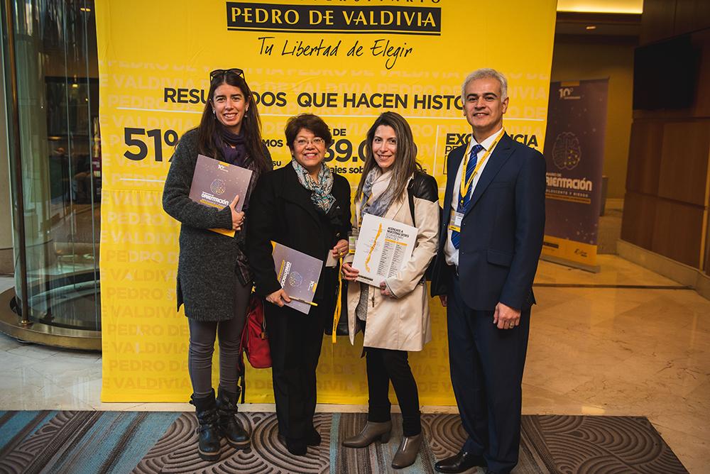 Daniela VillalobosAna María PalominosLoreto MirandaRicardo Venegas
