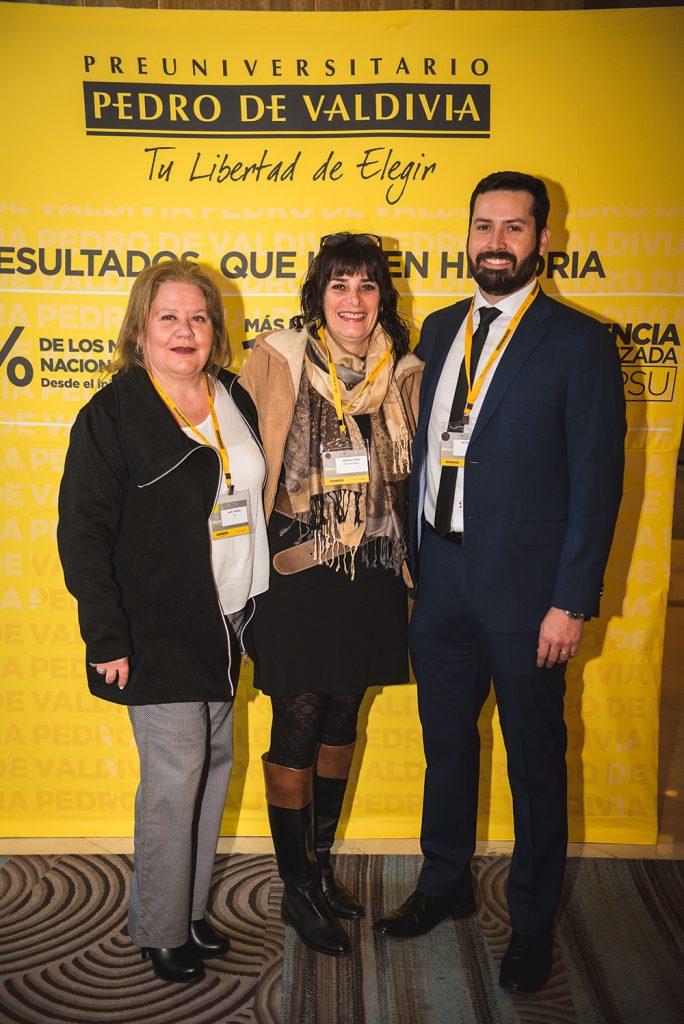 Sara Atischa Marcela Rossi Hector Soto