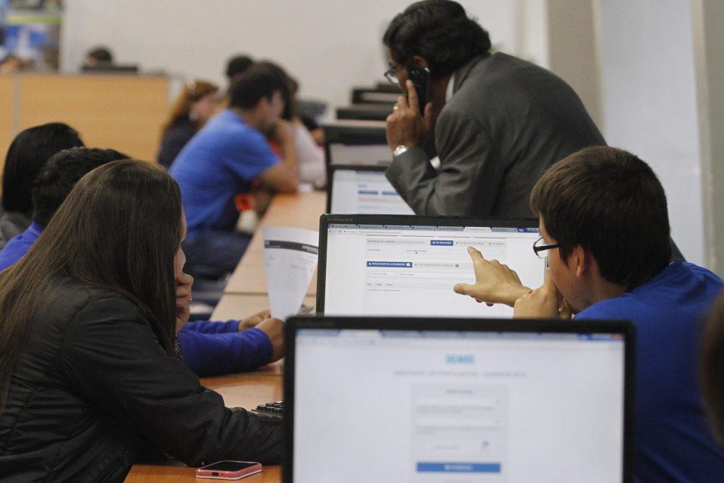 Concepcion 26 de diciembre 2017. Comienza el proceso de postulacion a las universidades adscritas al Sistema Unico de Admision. Dragomir Yankovic/Atonchile.